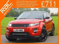 2014 Land Rover Range Rover Evoque 2.2 SD4 Turbo Diesel 190 BHP Dynamic 4x4 4WD