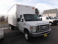 2014 Ford E-350 16 FT CUBE WITH RAMP