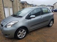 Toyota Yaris, great condition, low mileage w/ 1 yr service £5000
