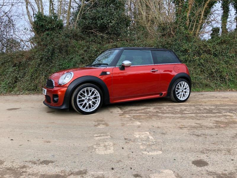 2011 Mini Cooper D Chilli Pack Spice Orange Jcw Sport
