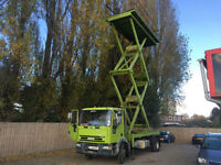 2003 Iveco CARGO TECTOR 14 TONN SCISSORS LIFT CHERRY PICKER ACCESS PLATFORM 15m