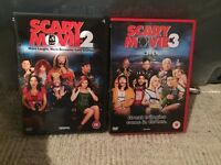 DVDs - Scary Movie 2 & 3