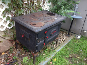 Antique wood stove - great condition Strathcona County Edmonton Area image 2