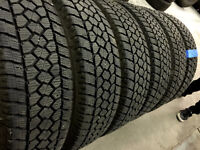 LT215/80R16 TOYO OPEN COUNTRY Winter Tires (Set of six tires)
