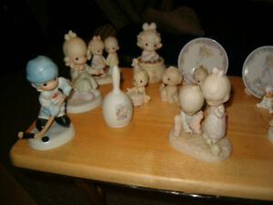 PRECIOUS MOMENTS and PORCELAIN FIGURINE/COLLECTIBLE!