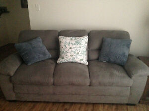 Grey sofa for sale - in very good condition