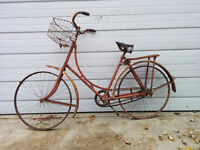 Antique Bicycle for Restoration