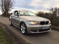 2008 BMW 120D COUPE SE A SILVER AUTO