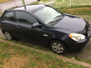 2008 Hyundai Accent -Automatic, 148000km. One owner. 80% hwy km
