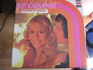 Easy Listening W/ Bert Kaempfert & James Last ( Vinyls )