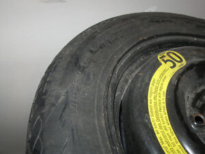 Spare donut tire T125/90R15