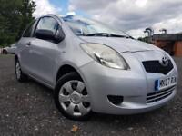 07 Plated- Toyota Yaris 1.0 VVT-i Ion 3 drs- Low Mileage
