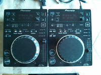 2X pioneer CDJ 350s, mixer, and monitors $975 (price reduced)