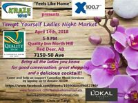 """""""Feels like home"""" Tempt Yourself Ladies Night Market"""