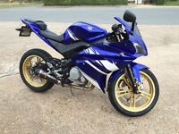 Yamaha YZF R125 (£850 worth of extras) open to offers