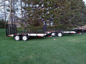 New 2017 landscaping trailers