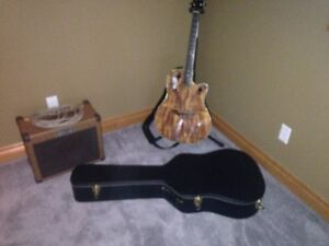 Ovation Guitar , Kustom amp and Guitar Case