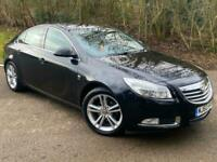 Vauxhall Insignia 1.8i 16V SRi Petrol Manual 5 Door Black 2010 Saloon