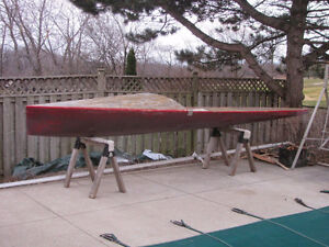 International Canoe IC10m  sailing canoe