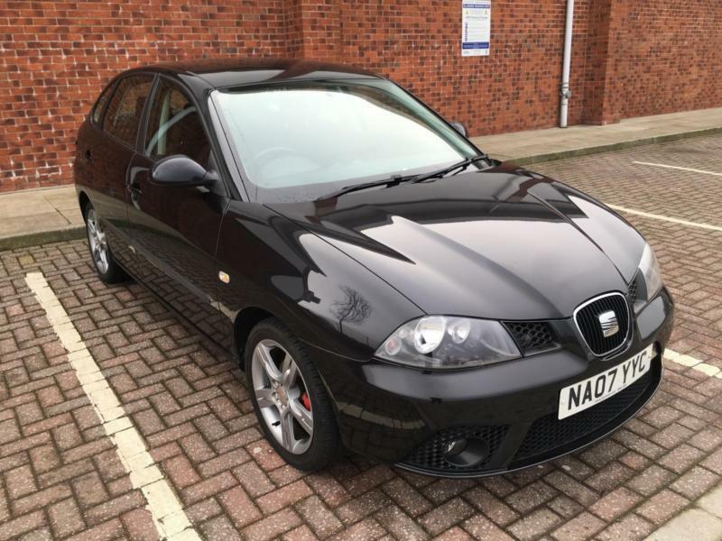 2007 07 black seat ibiza 1 4 16v special edition dab in. Black Bedroom Furniture Sets. Home Design Ideas