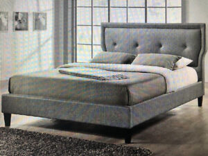 Marquesa Upholstered Platform Bed- King Size New in Box