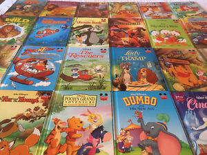 26 Disney's books from Grolier (livres anglais)– I can post