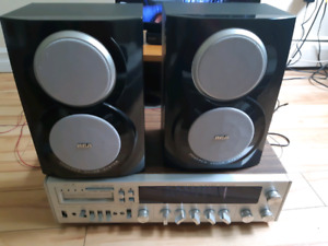 Old school amp a track plus AUX