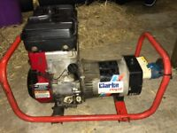 Clark power 110 &240 volts Petrol Generator