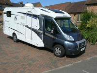 Knaus Sky TI 650MG 4 berth motorhome with large garage fixed rear bed