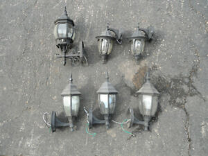Porch lights - used but in good condition
