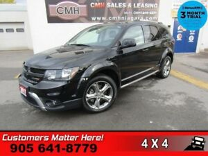2017 Dodge Journey Crossroad  AWD LEATH HS HTD-S/W 7-PASS REAR-A