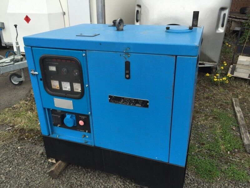 Gen-set mcmk10000 10kva 1500 rpm kubota 1phase | in East End, Glasgow |  Gumtree