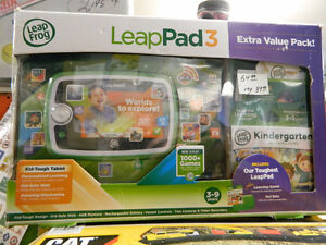 Leappad 3 Extra Value Pack and more TOYS!