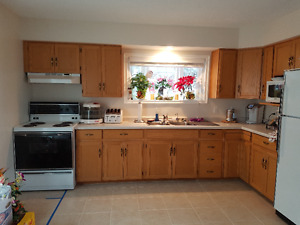 Complete kitchen cupboards,& appliances