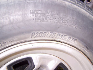 Chey Blazer rims with tires (5 x 120.7) Edmonton Edmonton Area image 4