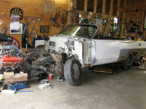 1963 Pontiac Parisienne Convertible parts + 1962 Chevrolet Parts