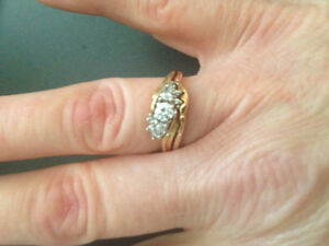 Diamond Engagement Ring with Matching Wedding Band Belleville Belleville Area image 3