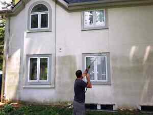 Professional stucco cleaning with Supreme Mobile Wash