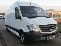 2015 15 MERCEDES-BENZ SPRINTER 2.1 313CDI LWB HIGH ROOF 129BHP NEW SHAPE. LOW 37