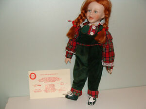 PORCELAIN DOLL WITH SKIPPING ROPE