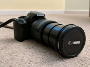 Reduced Canon 18-200mm lens