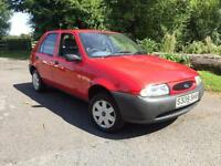 Ford Fiesta 1.25 Encore cheap 5 door car with a new MOT