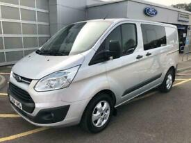 2014 Ford Transit Custom 290 L1 H1 Trend Double Cab In Van 2.2 125PS Manual DCIV