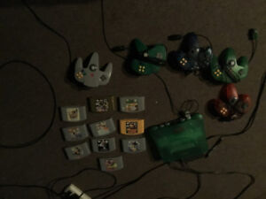 N64 and 10 games