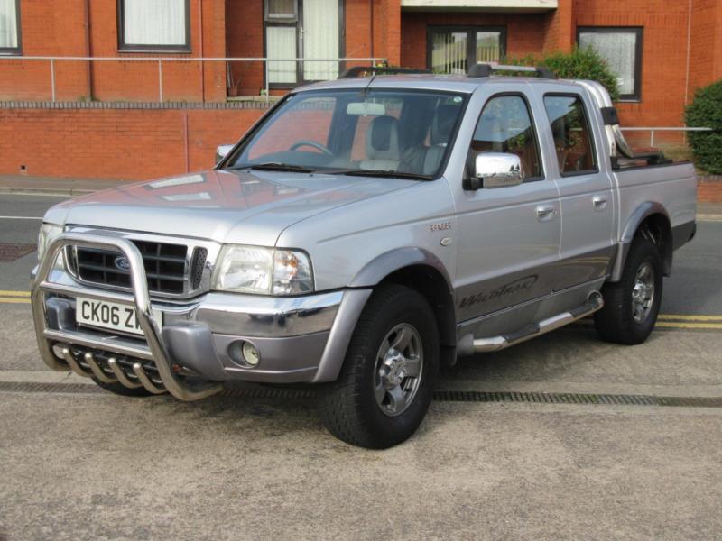 2006 Ford Ranger 2.5TDdi Wildtrak Double Cab + ONLY 73K MILES + NO VAT