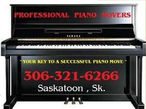 "PROFESSIONAL PIANO MOVERS - ""your key to a sucessful piano move"""