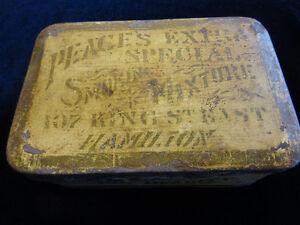 Antique Canadian Tobacco Tin - 1920