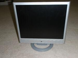 Ecran ordinateur LCD 17 pouces HP