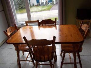 table de cuisne