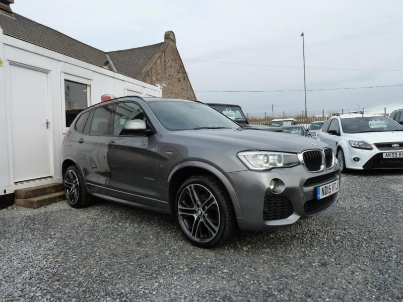 2015 15 Bmw X3 Xdrive20d M Sport Step Auto 2 0td 190 Bhp In